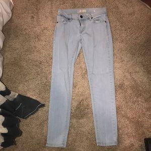 light free people blue jeans